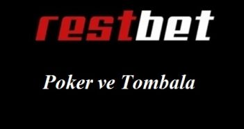 Restbet Poker ve Tombala
